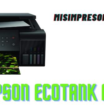 Epson EcoTank ET-7700: características y opiniones