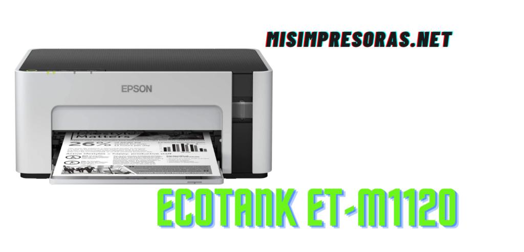 ECOTANK ET-M1120: análisis y opiniones